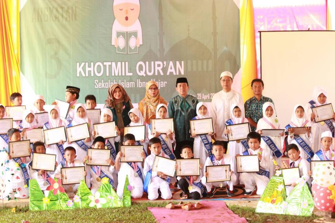 Khotmil Qur'an kelas 3 & 5